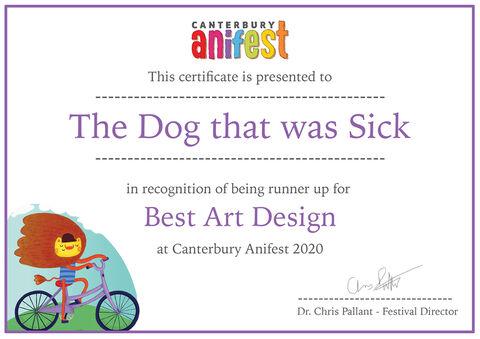 انیمیشن «سگی که مرض داشت» برنده یک جایزه بریتانیایی شد