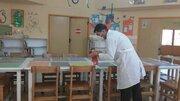 سومین مرحله ضدعفونی مراکز فرهنگی هنری کانون فارس با هدف مبارزه با ویروس کرونا