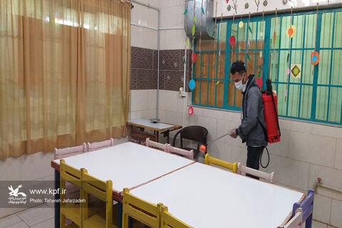 اقدامات پیشگیرانه با هدف مقابله با ویروس کرونا در کانون استان سمنان