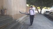 کانون استان هرمزگان ضدعفونی شد