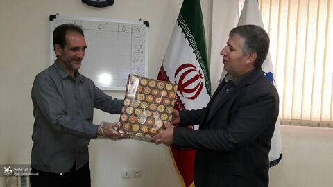 تجلیل مدیرکل استان از همکاران کانون پرورش فکری لرستان