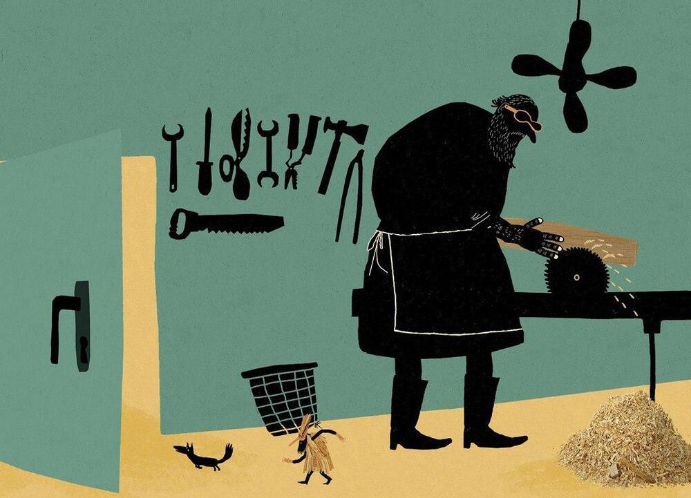 انیمیشن دزد درختها به کارگردانی راشین خیریه