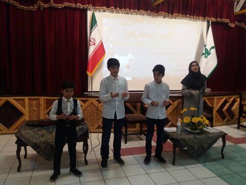 برگزاری جشن نیمه شعبان توسط اعضای کانون آذربایجان شرقی، در فضای مجازی
