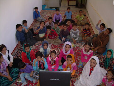 کتابخانه سیاروستایی کانون استان کردستان