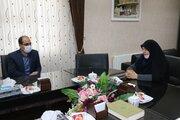 دیدار مدیر کل کانون استان و مدیر کل  آموزش و پرورش
