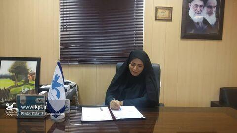 تفاهمنامهی همکاری کانون پرورش فکری سیستان و بلوچستان با معاونت فرهنگی دادگستری استان امضا شد