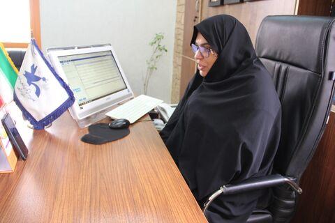 جلسه ویدئو کنفرانس مدیرکل کانون استان هرمزگان با مراکز