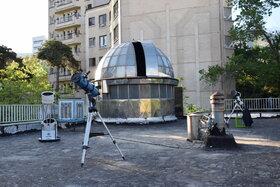 رصد ماه به طور زنده در فضای مجازی