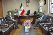 دیدار مدیرکل کانون پرورش فکری زنجان با مدیر کل آموزش و پرورش