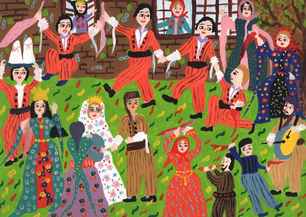برگزیدگان مسابقه بینالمللی نقاشی نوازاگورا کشور بلغارستان