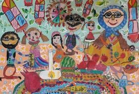 درخشش کودکان خوزستانی در مسابقه بینالمللی نقاشی بلغارستان