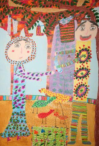 زهرا نوشایی از مرکز کوشک اصفهان برگزیده مسابقه بینالمللی نقاشی نوازاگورا کشور بلغارستان