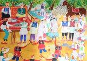 درخشش نوجوان گلستانی در مسابقه بینالمللی نقاشی نوازاگورا کشور بلغارستان