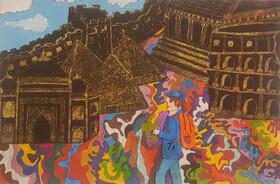 پنج دیپلم افتخار مسابقه نقاشی رومانی سهم کودکان ایرانی