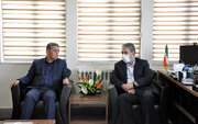 دیدار مدیرکل کانون استان اردبیل با مسوولان استانداری