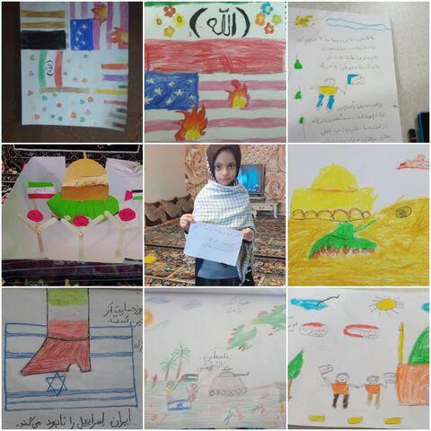 برگزاری ویژه برنامه سلام کودک فلسطینی
