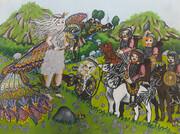 آثار برگزیده کودکان و نوجوانان ایرانی در مسابقهی نقاشی بلاروس