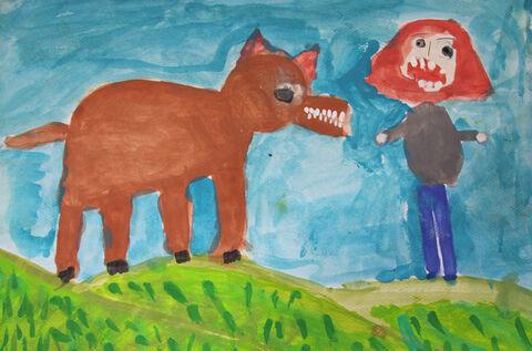 سحر عسگری 11 ساله از شیروان برگزیده مسابقه نقاشی بلاروس