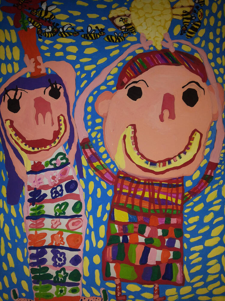 Iranian Children Shine in Belarus Art and Graphics Contest