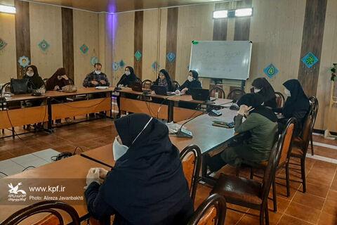دومین وبینار قصهگویی کانون پرورش فکری استان همدان برگزار شد