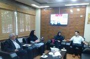 نشست مشترک مدیرکل کانون گلستان با رئیس اتاق بازرگانی، صنایع و معادن گرگان