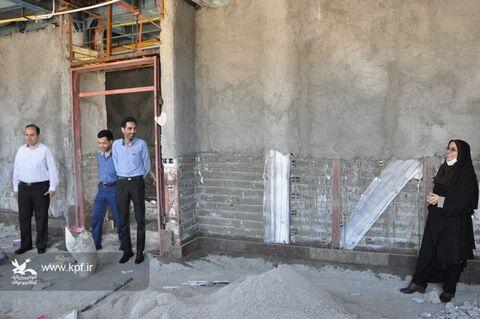 بازدید مدیرکل و کارشناسان کانون خراسان جنوبی از پروژههای عمرانی مراکز شماره ۴ و یک بیرجند