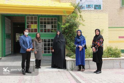 بازدید مدیر کل محترم  از مراکز فرهنگی هنری کانون استان تهران