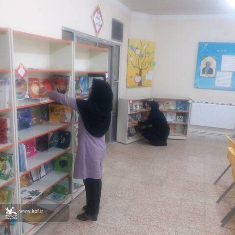 مراکز کانون ایلام در حال نظافت و ثبت کتاب در انتظار بازگشت بچه ها