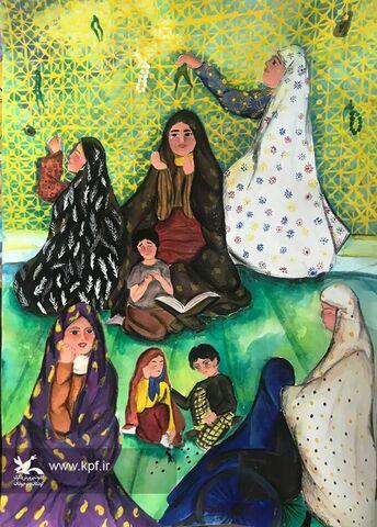 درخشش عضو کانون خراسان جنوبی در مهرواره کشوری نیایش