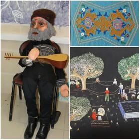 برپایی نمایشگاه آثار هنری  اعضای کانون آذربایجانغربی