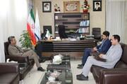 دیدار با رئیس سازمان برنامه و بودجه استان با هدف بسترسازی فرهنگی در خراسان شمالی