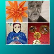 افتتاح اولین نمایشگاه مجازی آثار اعضای مجتمع شهید فرخی کانون ارومیه
