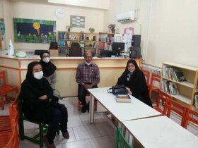 بازدید مدیر کل کانون فارس از مراکز فرهنگی هنری شیراز