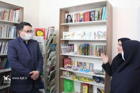 افتتاحیه کتابخانه ویژه کودکان کار