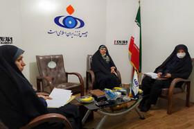 حضور مدیرکل کانون استان در دفتر خبرگزاری فارس و تشریح فعالیتهای پیک امید مجازی کانون