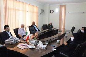 مدیرکل کانون پرورش فکری با رئیس خانه صنعت، معدن و تجارت استان گلستان دیدار کرد