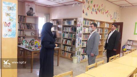 بازدید فرماندار از کانون شهرستان عجبشیر