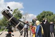 رصد خورشیدگرفتگی در کانون آذربایجانغربی