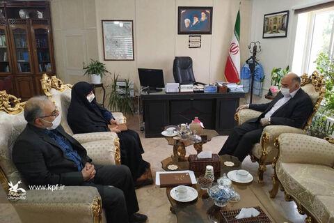 دیدار مدیرکل استان همدان با معاون استاندار و فرماندار ویژه ملایر