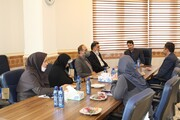 دیدار اعضای کمیسیون فرهنگی شورای شهر بجنورد از مراکز کانون