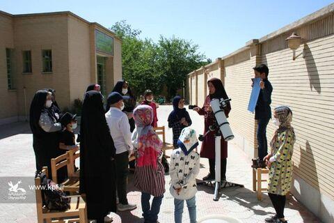 رصد آخرین کسوف قرن چهاردهم شمسی در مراکز کانون پرورش فکری کودکان و نوجوانان استان اصفهان