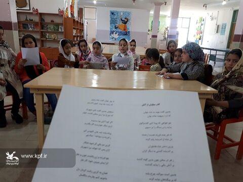 برگزاری کارگاه مجازی گلستان خوانی در مرکز شماره ۲ یاسوج