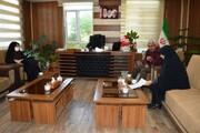 دیدار مدیرکل کانون استان قزوین با فرماندار البرز
