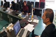 جلسهی مجازی مسئولان مراکز کانون استان سمنان
