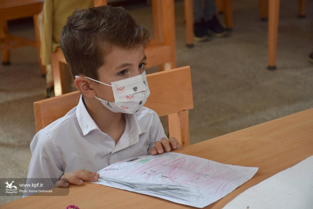 مسابقه نقاشی «آری به سلامتی و عادت های خوب» در مرکز شماره یک خرم آباد