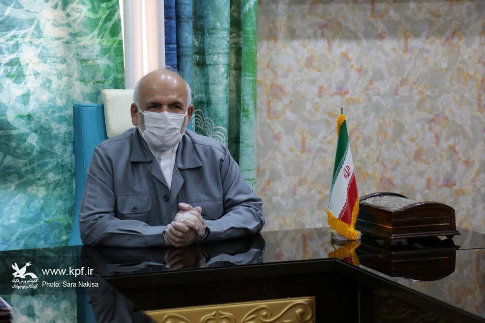 بازدید نماینده مردم بوشهر، دیلم،گناوه در مجلس شورای اسلامی از کانون پرورش فکری
