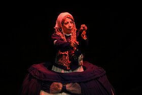 "Performing ""My Imaginary World"" in Kanoon Theater Center"