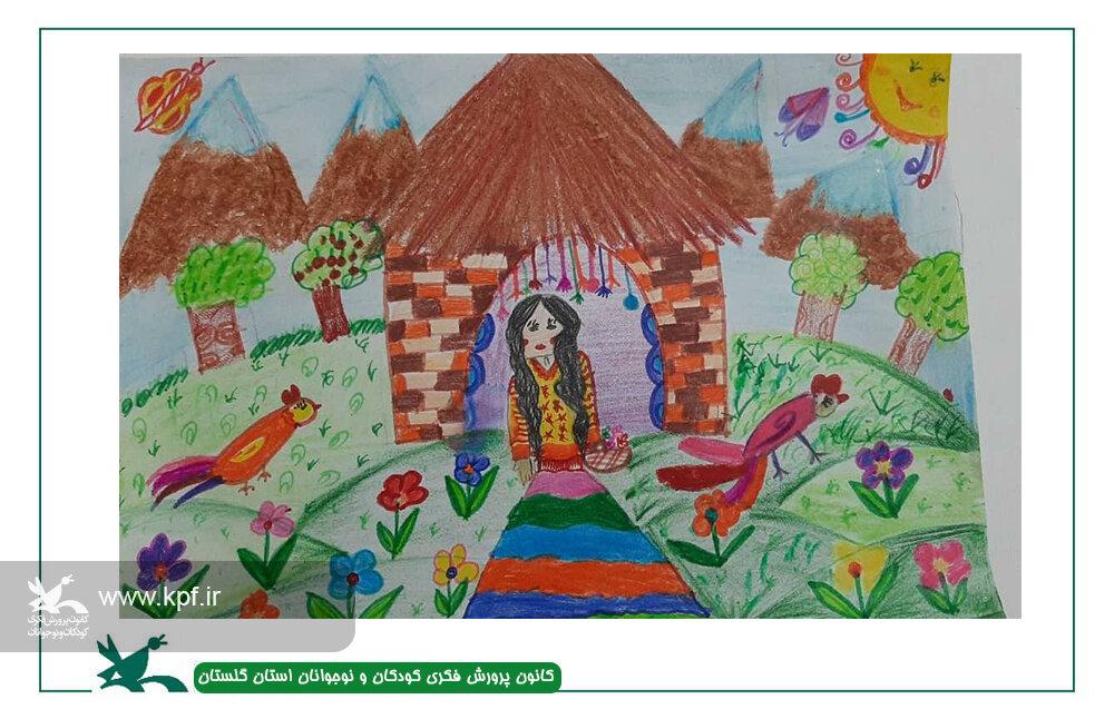 برگزیدگان مسابقه نقاشی«دنیای رنگارنگ» کانون پرورش فکری گلستان معرفی شدند