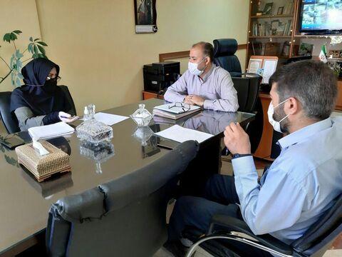 نشست هماهنگی برگزاری کلاسهای آموزشی آنلاین کانون استان