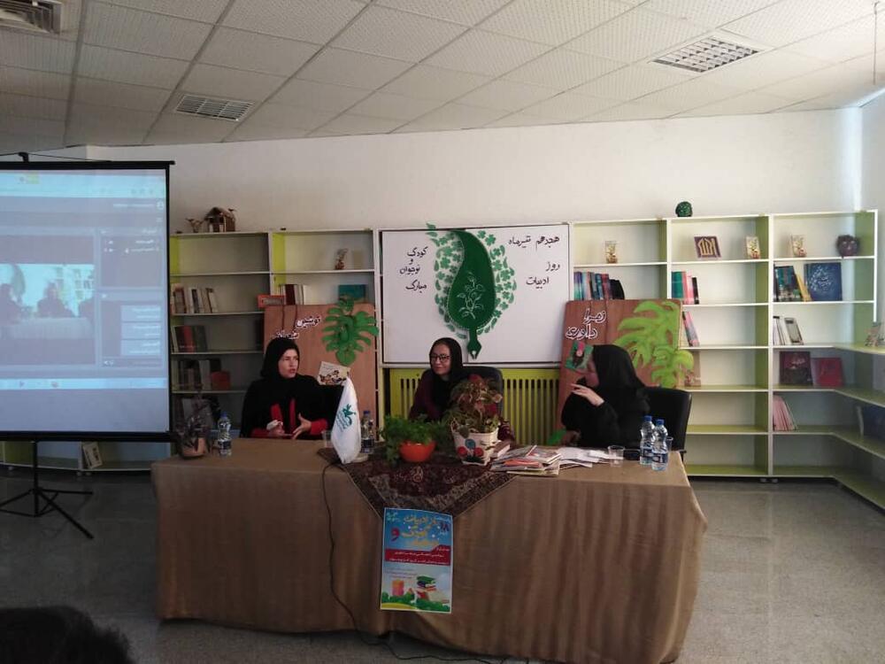 تقدیر از دو شاعر و نویسنده حوزه کودک